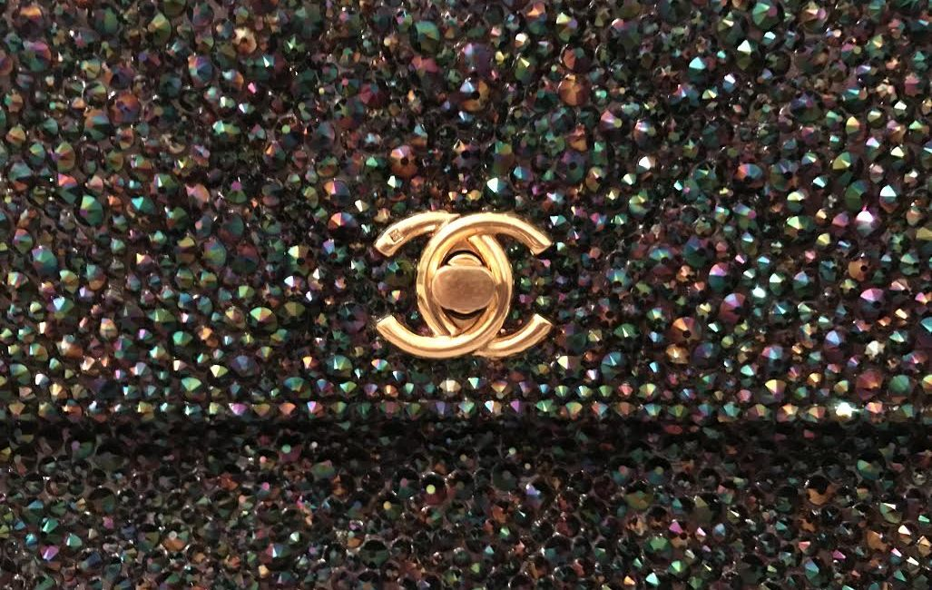 a2c315bf1ea1 Bidding on this Chanel bag ends Friday morning EST. Don't miss your chance  to snag a CUSTOM hand strassed vintage Chanel bag for a fraction of retail,  ...